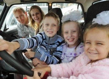 Машина для многодетной семьи от государства