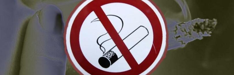 Запрет курения табака или потребления никотинсодержащей продукции на отдельных территориях, в помещениях и на объектах