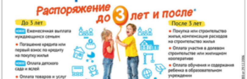 Материнский капитал на образование: кружки и оплата дет