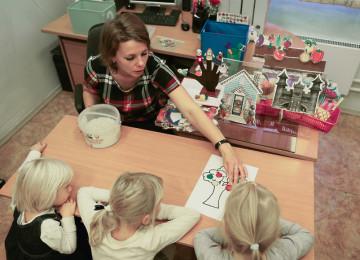 Как открыть и оформить семейный детский сад?